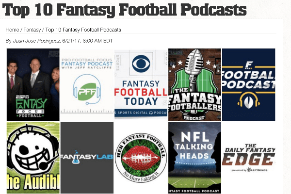 Fantasy Football Podcast L Rated Best 2018 L Nfl Talking Heads